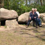Met de camper naar Drenthe.